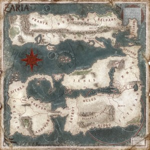 Zaria world map 10x10